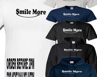smile more you tube t shirt all sizes upto 5xl free first class postage uk