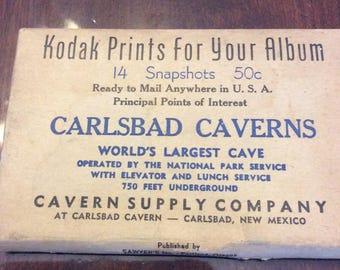 Carlsbad Caverns photos 1940s