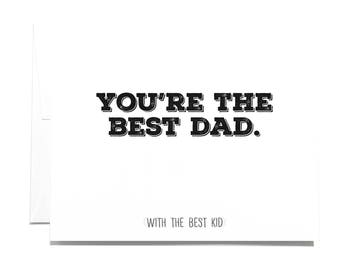 Greeting Card Best Dad