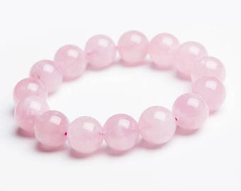 (7) 6mm, 8mm (5), 10mm (3)-Rose Quartz beads