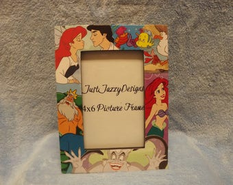 Disney picture frame - Little Mermaid