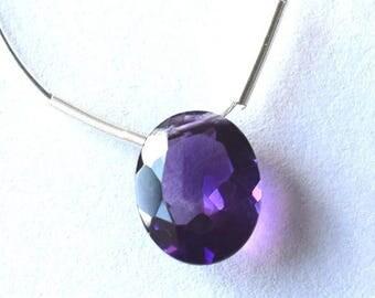 Beautiful 2 carat Amethyst pendant
