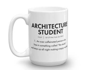 Architect Gift - Architecture Student Coffee Mug