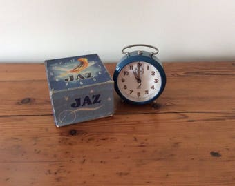 Jaz wind up Vintage blue 1970's