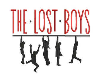 The Lost Boys Embroidery Design - 4 SIZES
