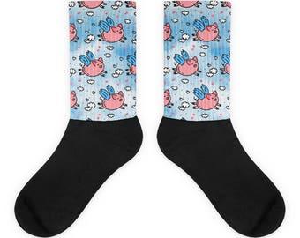 flying pigs Socks