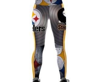 Steelers football leggings