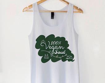 100% Vegan Soul | Vegan T shirt