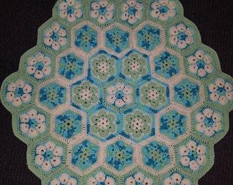 Hexagon blanket / playmat