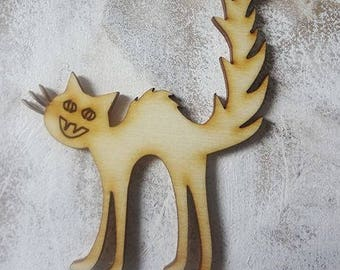 Cat 310 embellishment wooden creations
