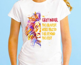 Woman's T-shirt/Crop Top Griffindor