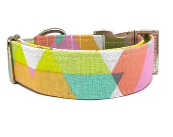 Geometric Modern Dog Collar