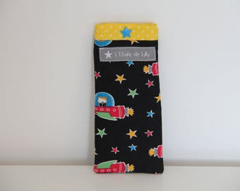 "Child ""Raiders of the space"" glasses case"