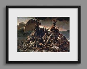 Raft of the Medusa - Théodore Géricault