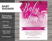 Baby girl invite, Baby Sh...