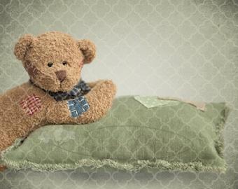 Bear-Enchanting digital background