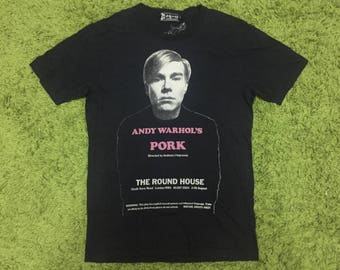 RARE VINTAGE Andy Warhol Hysteric Glamour medium size