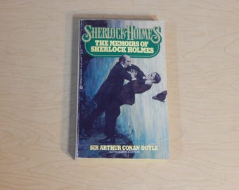 The Memoirs of Sherlock Holmes - Sir Arthur Conan Doyle   - Vintage Paperback Book