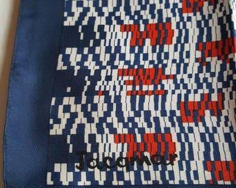 Vintage jacqmar polyester scarf