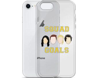 Riverdale iPhone Case | Squad Goals Jughead, Archie, Veronica, Betty iPhone Case