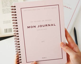 2018 MON JOURNAL PLANNER   Monthly Planner   Yearly Planner   Weekly Planner   365 Days   Grid Note   Korean Stationery   Christmas Gift