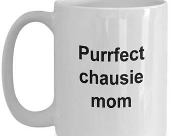 Chausie Mug - Purrfect Chausie Mom - Chausie coffee mug