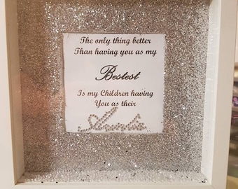 Beautiful sister quote frame