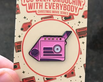 Talkgirl - (Talkboy variant) Soft Enamel Pin inspired by Home Alone