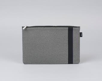 Toiletry bag, cosmetic bag, wash bag, grey