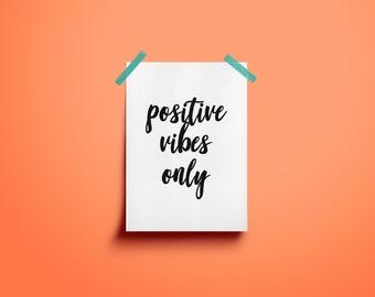 set of 6 motivational cards,5x7, digital download, printable, home decor
