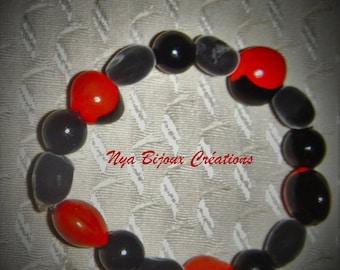 Seeds of caconnier bracelet, Zanzibar and SOAP