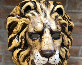 Lion Mask Painting
