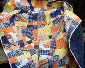 Wonky Picnic Quilt
