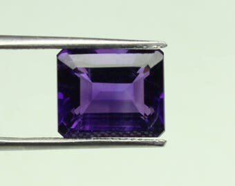Amazing  Natural  purple African Amethyst  Size 10x12 MM faceted 1 PC Octagon CODE :- AQ04