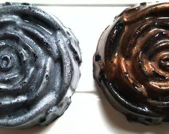 Shimmer Rose Charcoal Soap