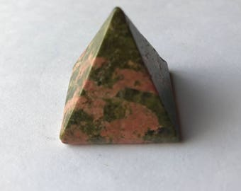 Unakite Pyramid 25mm