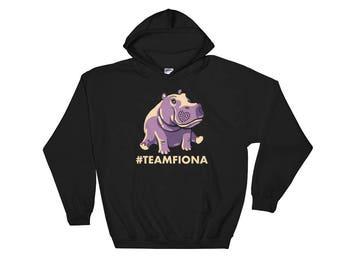 Fiona The Hippo Shirt #TeamFiona, Cute Baby Hippo Hoodie