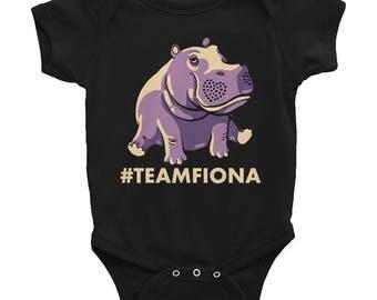 Fiona The Hippo #TeamFiona, Cute Baby Hippo Onesie