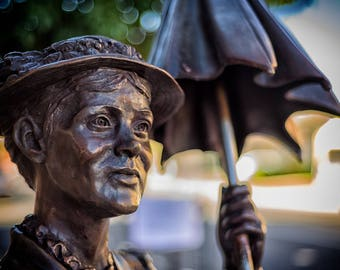 Mary Poppins Statue Print