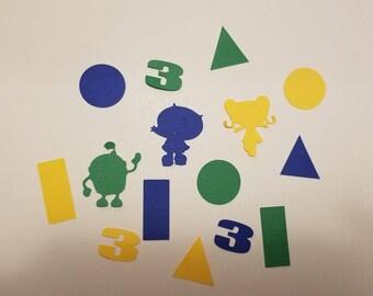 Team umizoomi 130pcs Confetti **free shipping**