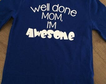 Well done Mom!