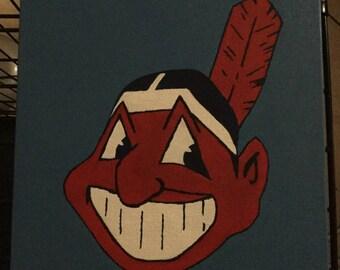 Chief Wahoo Cleveland Indians Baseball