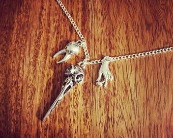 Memento Mori Charm Necklace