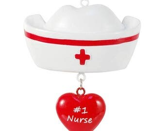 Special Nurse Personalized Christmas Ornament