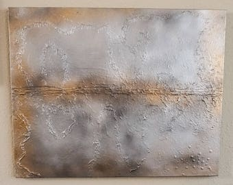 Abstract, original, textured painting / artwork on 24 x 30 canvas / contemporary / textured art / abstract painting