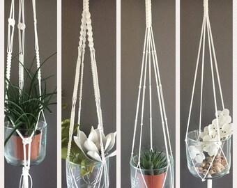 Macrame Plant Pendants, wall decoration, plant pendant, plant holder, hanging planter, modern Macrame, home decor, wall decor.