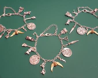 Harry Potter inspired charm bracelet.