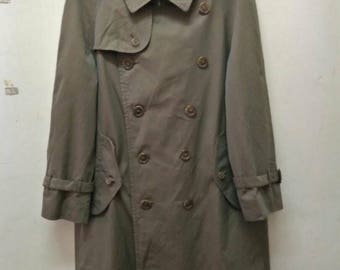 Burberrys Trench Coat / Vintages Burberry / Long Coat / Vintages Burberry Long Coat