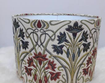 Lampshade Art Deco / Handmade Light Shade / Vintage Style / For Floor Lamp/ For Ceiling Lamp / Pendant / Lampshades/ Drum