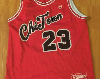 G.O.A.T. - Chi Town Red Bulls Basketball Jersey